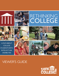 Rethinking College Views guide cover and link to PDF guide