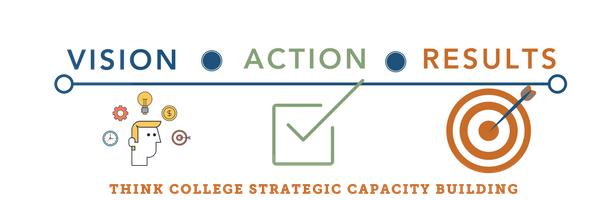 Vision - Action - Results: Think College Strategic Capacity Building
