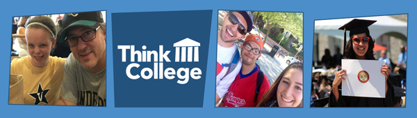 Think College newsletter header