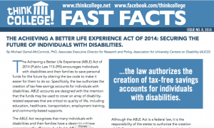 ABLE Act Fast Fact image