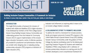Insight 26 Inclusive Communities