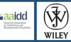 Logos for AAIDD and Wiley, publishers of the 2 journals
