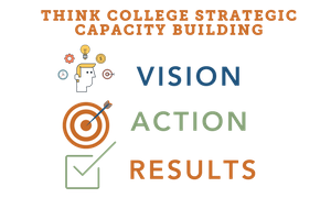 Think College Strategic Capacity Building. Vision - Action - Results